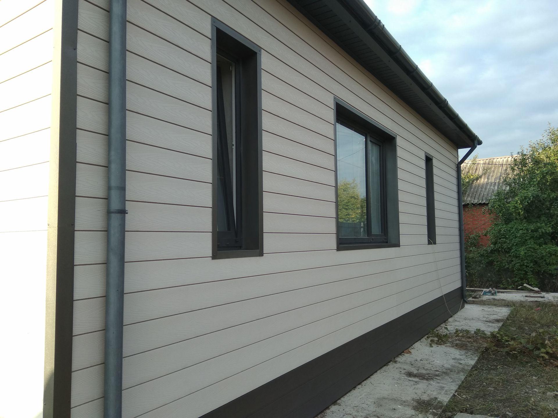 Примеры использования фасадной доски NEXTWOOD